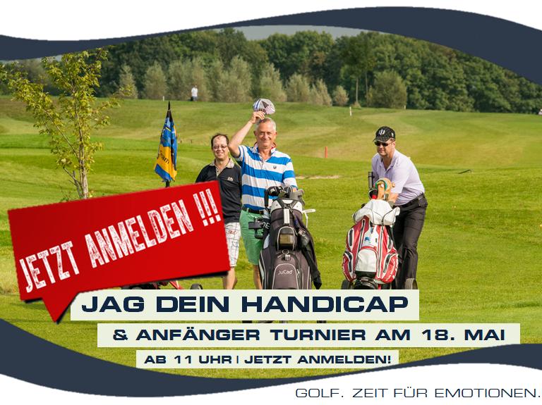 3TE JAG DEIN HANDICAP & ANFÄNGER TURNIER